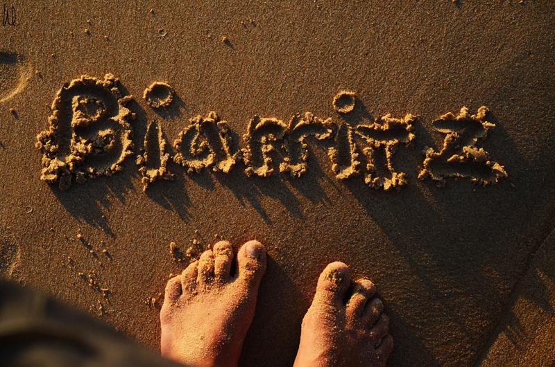 Biarritz-å-fötter