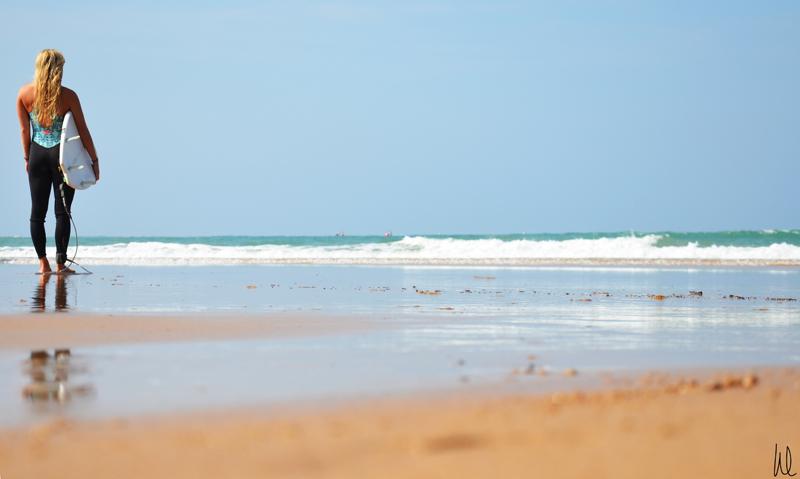 Kajsa-på-stranden-igen