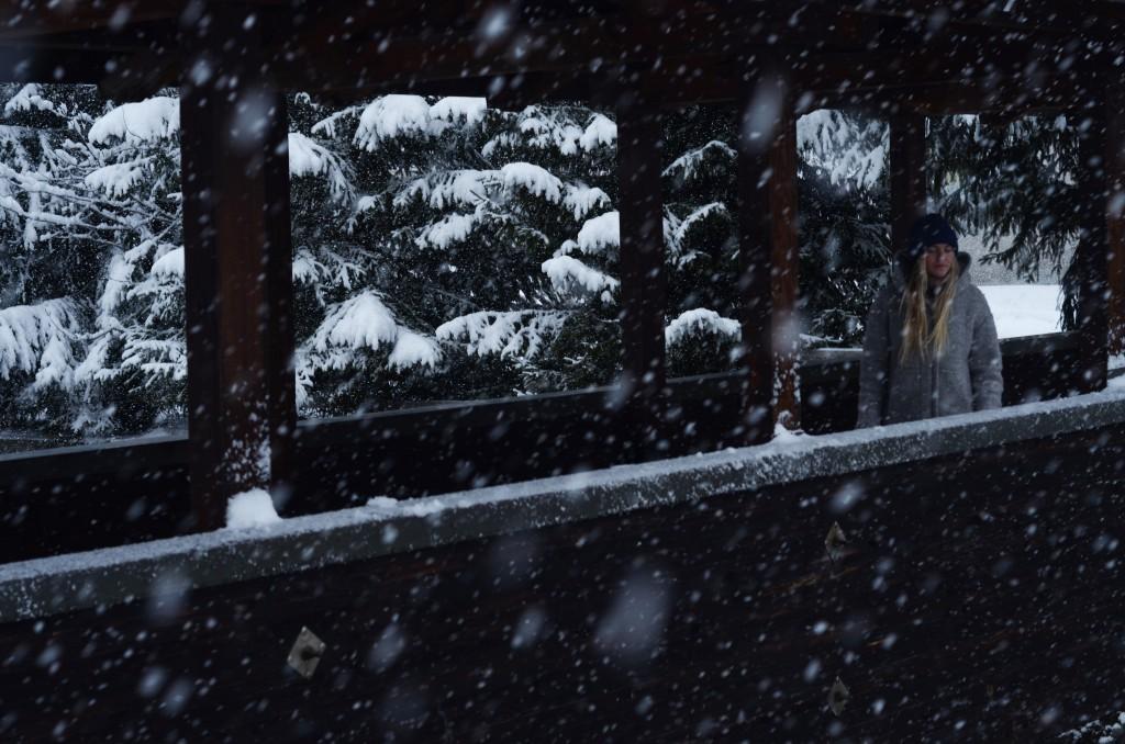 Kajsa i snön